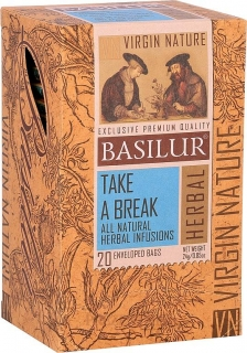 BASILUR Virgine Nature Take a Break 20x1,2g