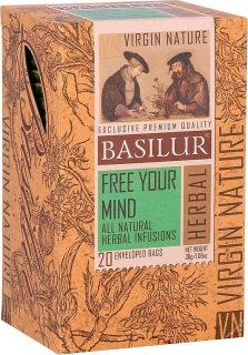 BASILUR Virgine Nature Free Your Mind 20x1,5g