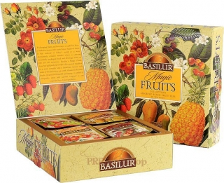 Basilur / Magic Fruits Assorted prebal 40 gastro sáčkov