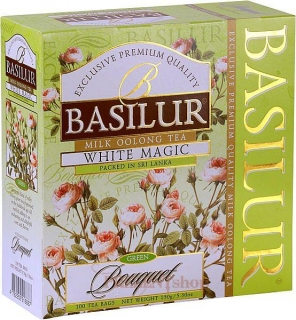 BASILUR Bouquet White Magic porc. 100x1,5g